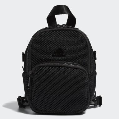 Women's Training Black Air-Mesh Mini Backpack