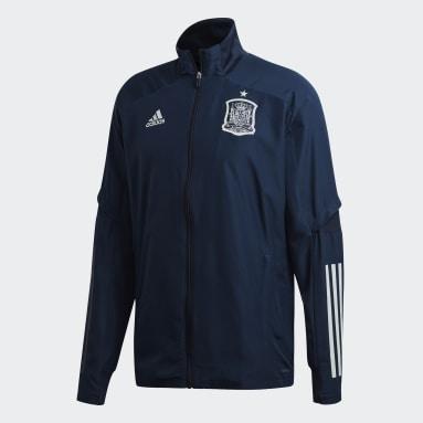 Giacca da rappresentanza Spain Blu Uomo Calcio