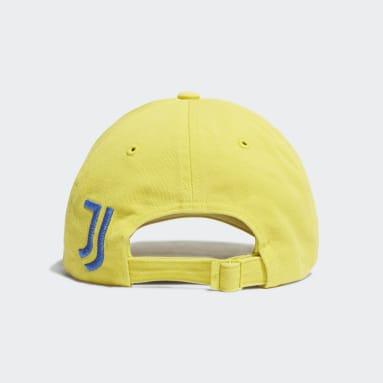 Soccer Yellow Juventus Dad Hat