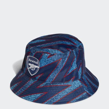 Fotboll Blå Arsenal Icons Bucket Hat