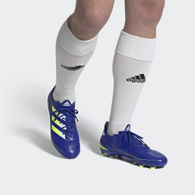 Football Blue Gamemode Firm Ground Boots