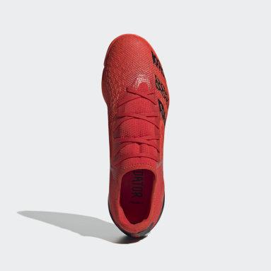 Men Football Red Predator Freak.3 Indoor Boots