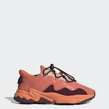 Women Originals Orange OZWEEGO Plus Shoes
