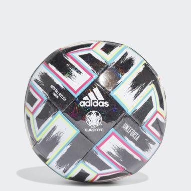 Fußball Uniforia Trainingsball Schwarz