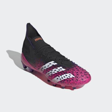 Bota de fútbol Predator Freak.1 césped artificial Negro Hombre Fútbol