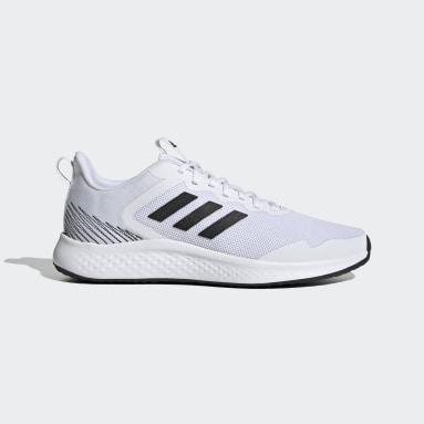 Men Running White Fluidstreet Shoes