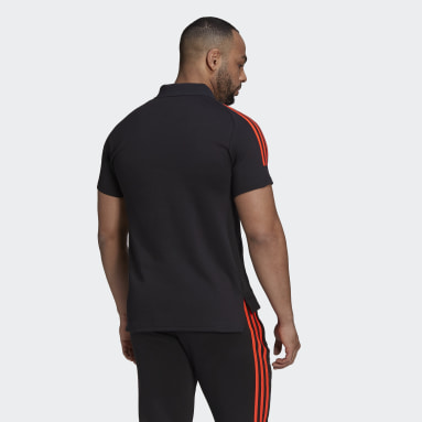 Polo All Blacks Rugby Primeblue Negro Hombre Rugby