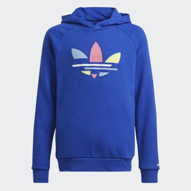 Sweat-shirt à capuche Adicolor Bleu Enfants Originals