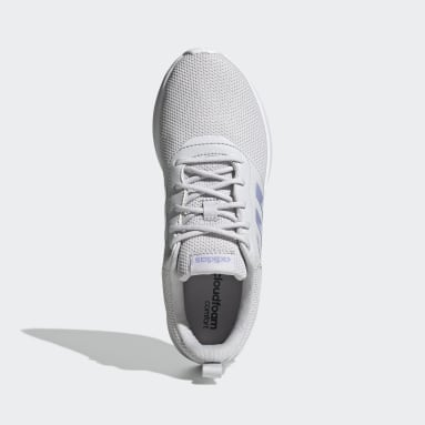 Women's Essentials Grey QT Racer 2.0 Shoes