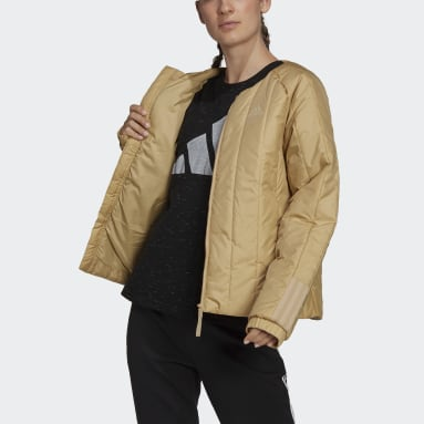 Giacca Itavic 3-Stripes Light Beige Donna City Outdoor