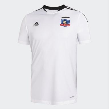 Camiseta de Entrenamiento Colo Colo Blanco Hombre Fútbol