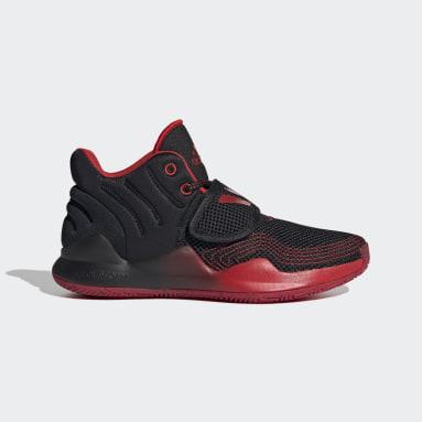 Chaussure Deep Threat Primeblue noir Adolescents Basketball