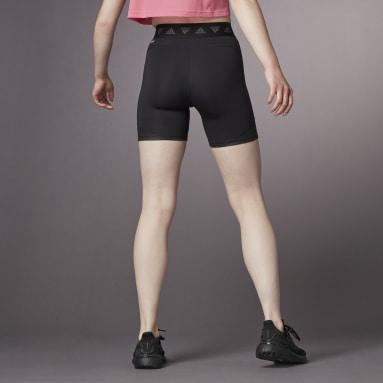 Women Training Black Hyperglam Tight Shorts
