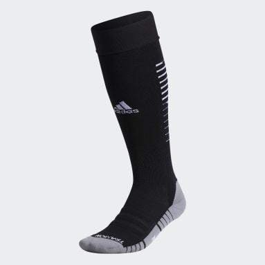 Training Black Team Speed Soccer OTC Socks