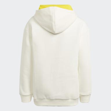 Sweat-shirt adidas x LEGO® Baumhaus Blanc Enfants Fitness Et Training