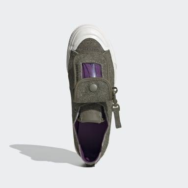 Männer Originals Nizza 420 RF Schuh Grün
