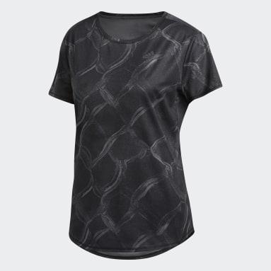 Women Running Grey Own the Run Graphic T-Shirt
