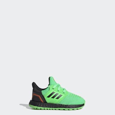 Infant & Toddler Running Green Ultraboost 20 Shoes