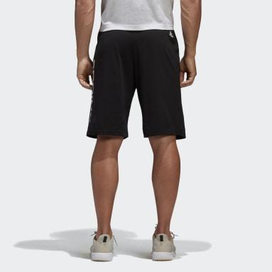 Shorts Ess Lin Sj Negro Hombre Diseño Deportivo