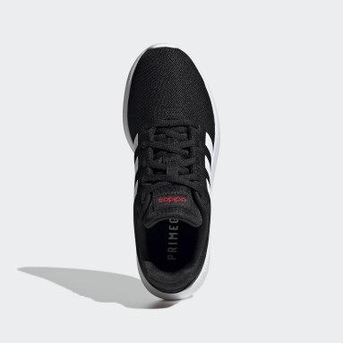 Kids Sport Inspired Black Lite Racer CLN 2.0 Shoes