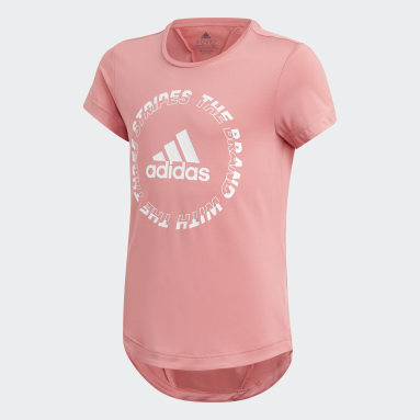 Camiseta AEROREADY Bold Rosa Niña Gimnasio Y Entrenamiento