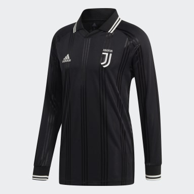Playera Icon Juventus Negro Hombre Fútbol