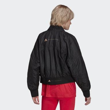 Women's adidas by Stella McCartney Black adidas by Stella McCartney Woven Bomber Jacket