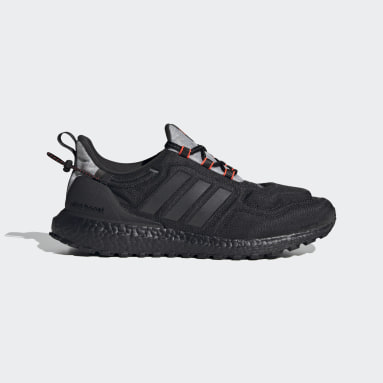 Men Running Black Ultraboost COLD.RDY Lab Shoes