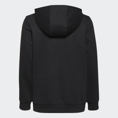 Sudadera con capucha adidas Essentials Logo (Género neutro) Negro Niño Sportswear