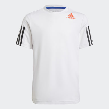 Youth 8-16 Years Gym & Training White HEAT.RDY Sport T-Shirt