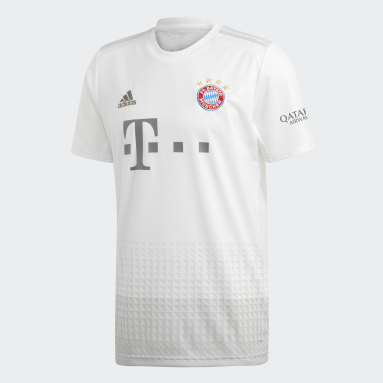 Camiseta de Visitante FC Bayern Blanco Hombre Fútbol