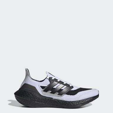 Běh bílá Boty Ultraboost 21