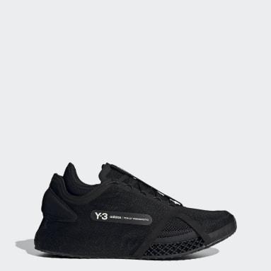 Y-3 Siyah Y-3 Runner 4D IOW