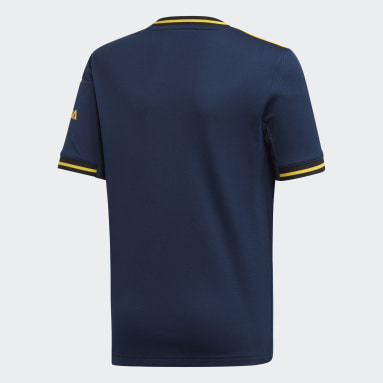 Boys Football Blue Arsenal Third Jersey