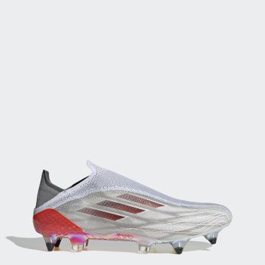 X Speedflow+ Soft Ground Fotballsko Hvit