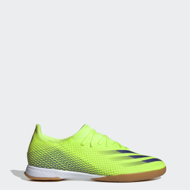 Men Football Green X Ghosted.3 Indoor Boots
