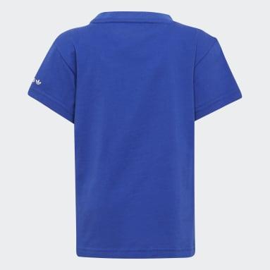 T-shirt adicolor Blu Bambini Originals