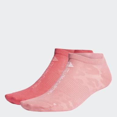 Kvinder Løb Pink adidas by Stella McCartney Hidden sokker, 2 par