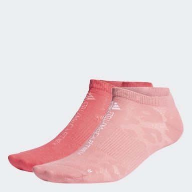 Dames Hardlopen Roze adidas by Stella McCartney Onzichtbare Sokken 2 Paar
