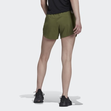 Pantalón corto Made To Be Remade Running Verde Mujer Running