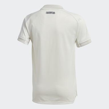 Camisa Treino Juventus Cinza Meninos Futebol