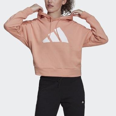Kadın Sportswear Pembe adidas Sportswear Future Icons Kapüşonlu Üst