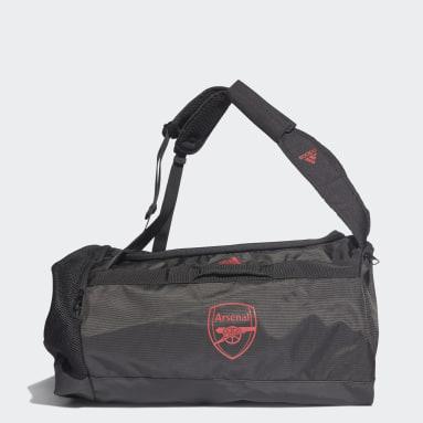Fußball FC Arsenal Duffelbag M Schwarz