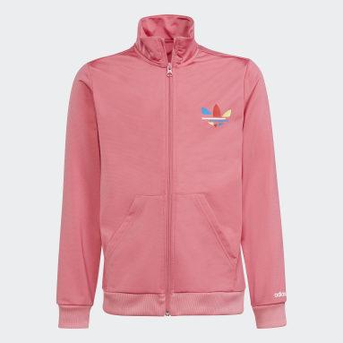 розовый Олимпийка Adicolor