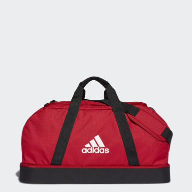 Fodbold Rød Tiro Primegreen Bottom Compartment sportstaske, medium
