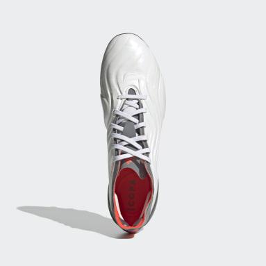 Football White Copa Sense.1 Artificial Grass Boots
