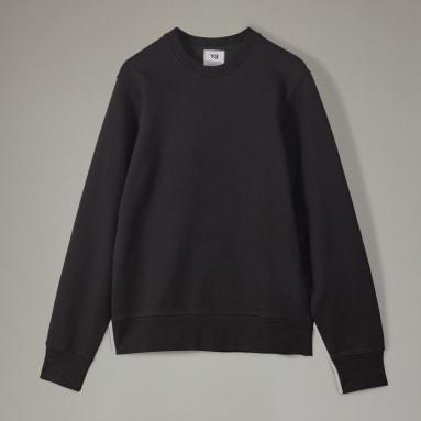 Men Y-3 Black Y-3 CL Logo Sweatshirt