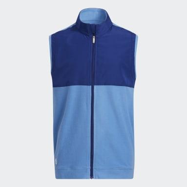 Děti Golf modrá Vesta Fleece Primegreen