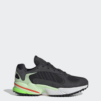 Kvinder Originals Grå Yung-1 Trail sko