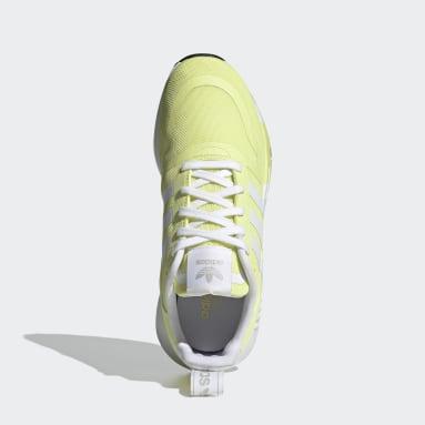 Tenis Multix Amarillo Mujer Originals